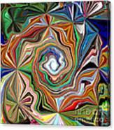 Spiral Splendor Canvas Print