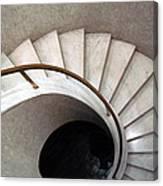 Spiral Stair - Denys Lasdun Canvas Print