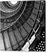 Spiral Steps Canvas Print