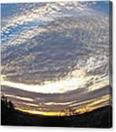 Spiral World Canvas Print