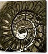 Spirals Down Canvas Print