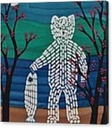 Spirit Bear Bella Coola Canvas Print