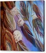 Spirit Feathers Canvas Print