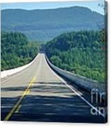 Spirit Lake Memorial Journey Canvas Print