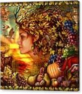 Spirit Of Autumn Canvas Print