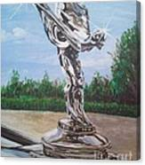 Spirit Of Ecstasy Canvas Print