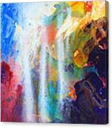 Spirit Of Life - Abstract 5 Canvas Print