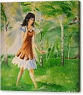 Spirit Of The Dew Canvas Print