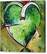 Spirit Of The Heart By Madart Canvas Print
