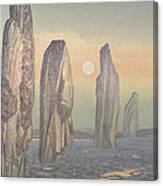 Spirits Of Callanish Isle Of Lewis Canvas Print