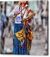 Spiritual Drums Canvas Print