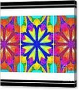 Spirituality - Life Lights - Kaleidoscope - Triptych Canvas Print