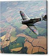 Spitfire Victory Canvas Print