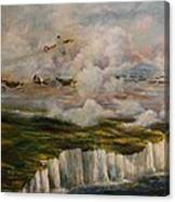 Spitfire's Over Dover Canvas Print