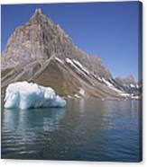 Spitsbergen Islandn Svalbard Norwegian Canvas Print