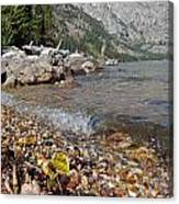 Splash Lake Jenny Canvas Print