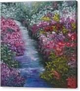 Splash Of Spring Canvas Print