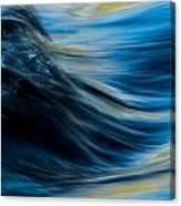 Splashing Over The Hump Canvas Print