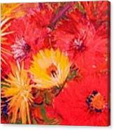 Splashy Floral II Canvas Print