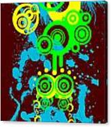 Splattered Series 1 Canvas Print