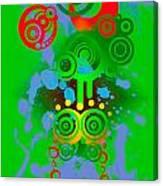 Splattered Series 11 Canvas Print