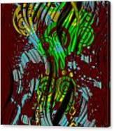 Splattered Series 2 Canvas Print
