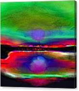 Splendid Lake Canvas Print
