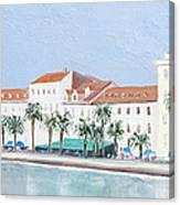 Split Croatia Adriatic Coast Canvas Print