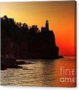 Split Rock Lighthouse - Sunrise Canvas Print