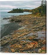 Splitrock Shoreline Canvas Print
