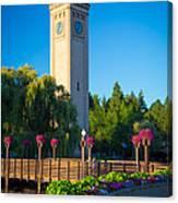 Spokane Clocktower Canvas Print