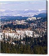 Spokane View 2-4-14 Canvas Print