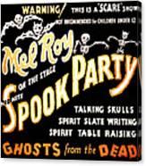 Spook Party 2 Canvas Print