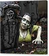 Spookie Lady Canvas Print
