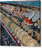 Spools At Lonaconing Silk Mill Canvas Print