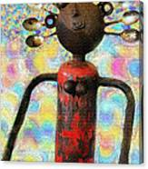 Spoon Woman Canvas Print