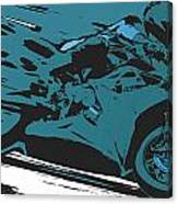 Sportbike Racer Canvas Print