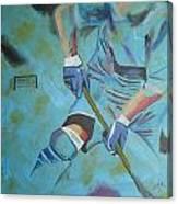 Sports Hockey-2 Canvas Print