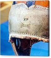 Sports - Vintage Football Helmet Canvas Print