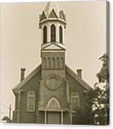 Sprague Church 2 Canvas Print