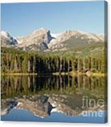 Sprague Lake In Rocky Mountain National Park Canvas Print