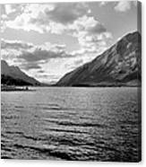 Spray Lake Canvas Print