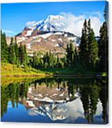 Spray Park Tarn Canvas Print