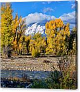 Spread Creek Grand Teton National Park Canvas Print