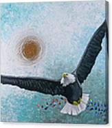 Spread Eagle Canvas Print