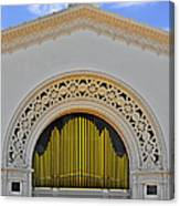 Spreckles Organ San Diego Canvas Print