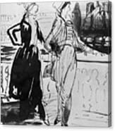 Sprinchorn Women, 1914 Canvas Print