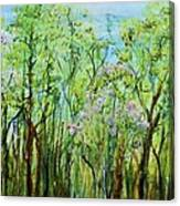 Spring Arpeggio Canvas Print