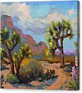 Spring At Joshua Canvas Print