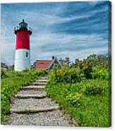 Spring At Nauset Light Canvas Print